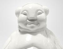 BOODHA - ceramic figure with USB dock by Diploo Studio!