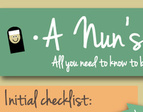 how to become a nun infographic