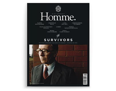 Homme Magazine No.94