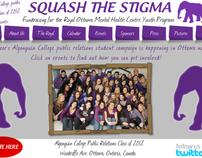 Squash the Stigma - Charity Project