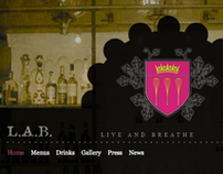 L.A.B. Restaurant Website