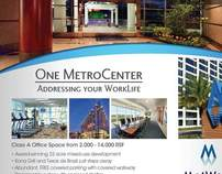 One MetroCenter flyer