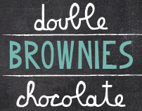 Typeface Double Chocolate Brownie