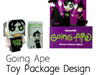 Going Ape - Toy Packaging Design