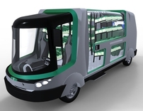 Urban Concept Vehicle: Hydroponics + Water
