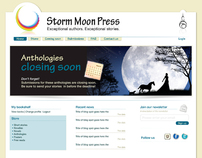 Storm Moon Press Website Design