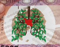 Banknote Design (international year of clean air)