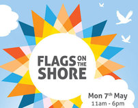 Flags on The Shore - Identity and Poster