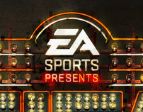 3D Neon sign for EA FIFA STREET.