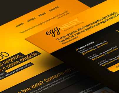 EggNEST - Business Ignition -  Website and Mobile