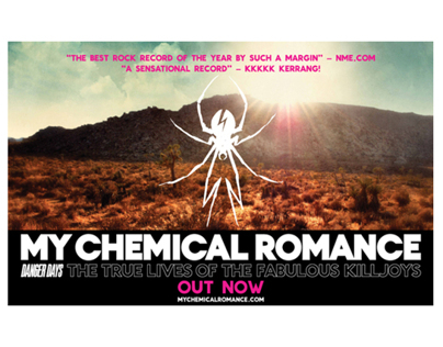 My Chemical Romance Album Campaign
