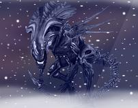 Alien Queen - A Giger tribute