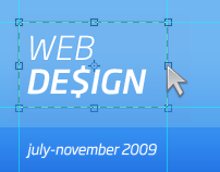 Web Design // July-November 2009