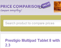 Pricecomparison UK is a price comparison website