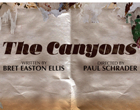 The Canyons - promotional movie poster