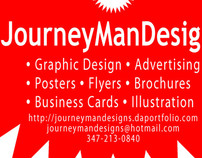 JourneyManDesigns Business Card