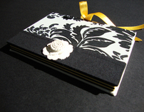 Damask Handmade Notebook