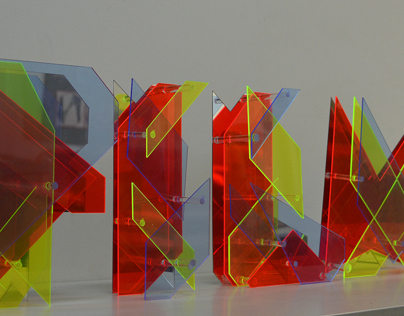 FILM Typography Installation