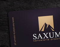Saxum - law firm branding