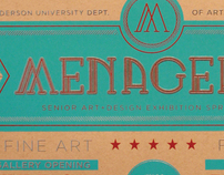 Anderson University Senior Show: Menagerie