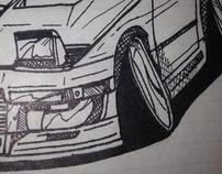 Car Illustrations (unrefined)