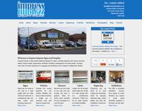 Impress Express Website Re-Design