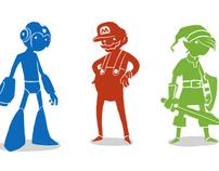 Nintendo Color Silhouettes