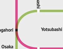Osaka Subway Map