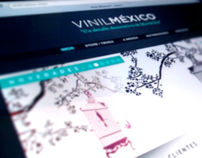 VinilMéxico™ - Corporate Identity, Responsive Website