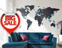 20% off Wall Stickers!