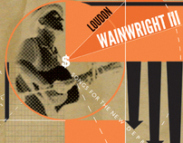 Loudon Wainwright III CD cover and Poster