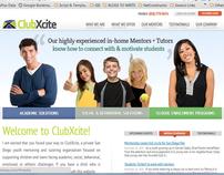 ClubXcite Corporate Redesign