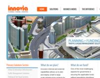 Innovia Corporate UX Redesign