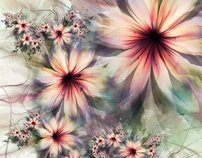 UltraFractal Flowers