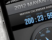 Mayan Alarm - iPhone app