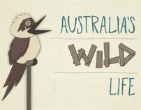 Australias Wild Life Infographic