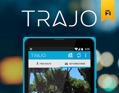 TRAJO | Urban Mobility App Concept