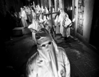 Easter Procession of the dead Christ in Italy