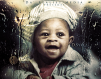 DSYKEZ - NEW BORN //  MIXTAPE COVER DESIGN