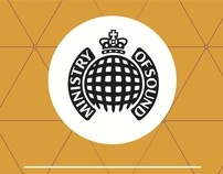 D&AD - Ministry of Sound Typographic Posters