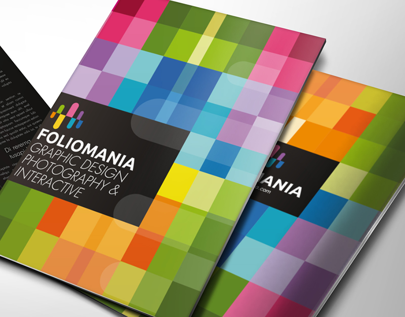 Foliomania // The design portfolio brochure