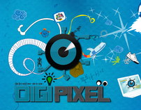 DIGIPIXEL LOGO Advertising Campaign
