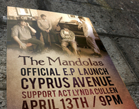 The Mandolas EP Launch poster