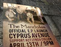 The Mandolas EP Launch poster