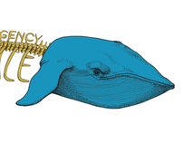 BLUE WHALE illustration agency