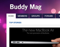 Buddy Mag Blog Theme
