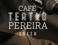 CAFE TEATRO PEREIRA LOGO AND BUSINESS CARDS