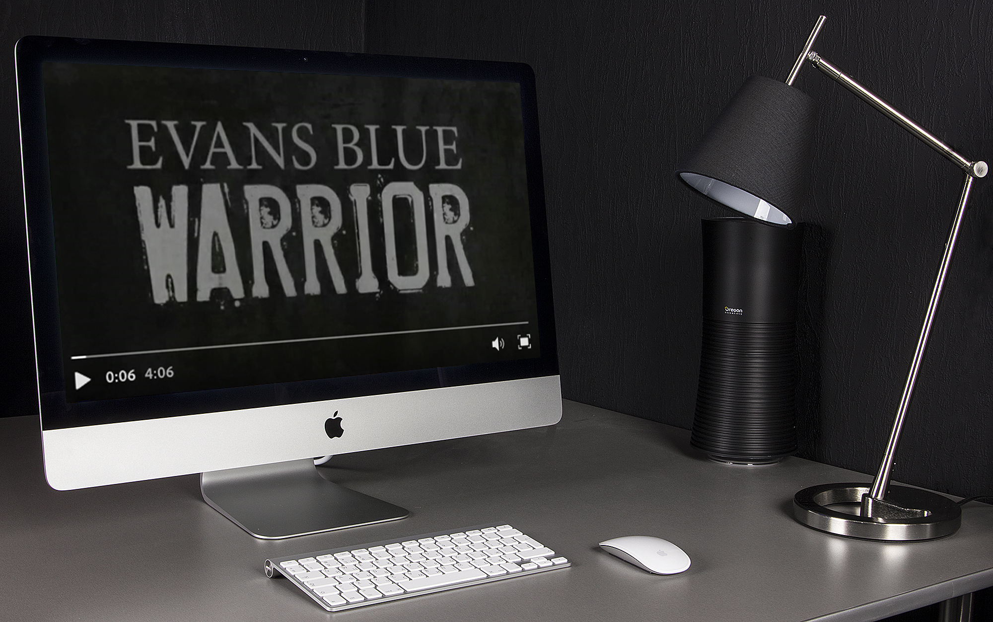 "Evans Blue ""Warrior"" Official Lyric Video"