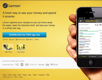 Lemon.com Homepage