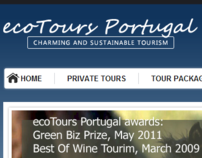 EcoTours Portugal Website